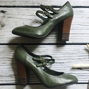 7279976ecbf American Eagle By Payless Shoes - American Eagle • Mary Jane High Heel  Shoes 8.5